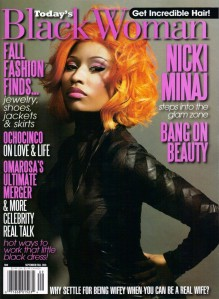 Nicki Minaj Covers Today's Black Woman Magazine